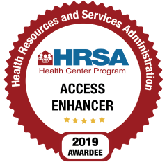 HRSA Access Enhancer Logo
