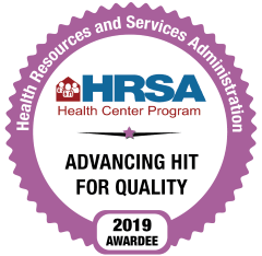 HRSA  Advancing Health Equity Logo